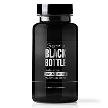 Black Bottle Hair Growth Support Vitamins Review