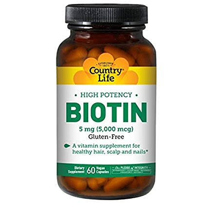 """Image result for Country Life - High Potency Biotin amazon"""""""
