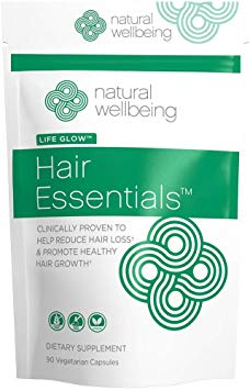 """Image result for Natural Wellbeing - Hair Essentials Natural Hair Growth Supplement for Women and Men"""""""