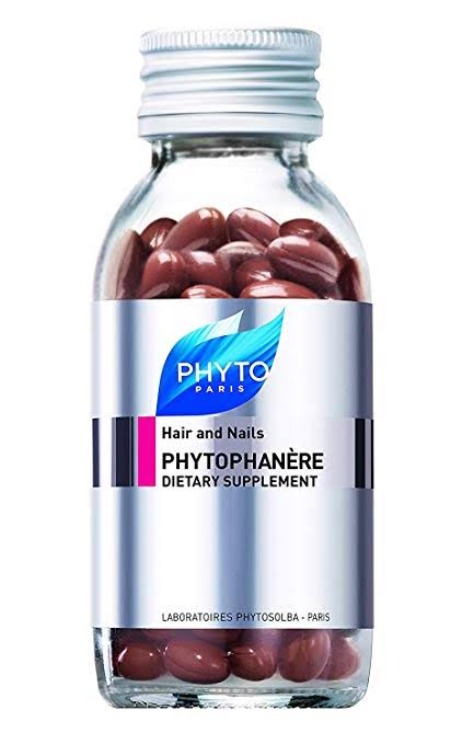 Image result for phyto phytophanere hair and nails dietary supplements amazon""