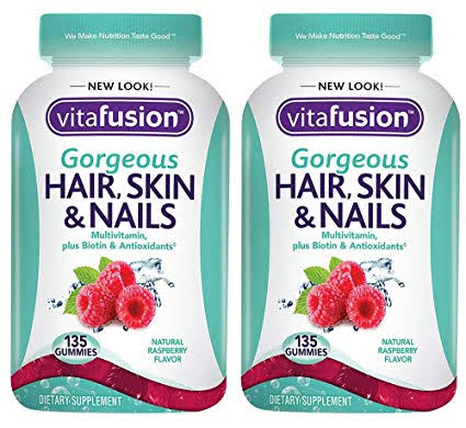 Image result for Vitafusion Gorgeous Hair, Skin & Nails Multivitamin amazon""