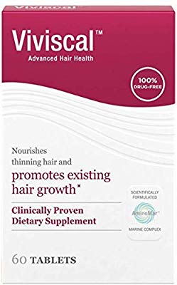 Image result for viviscal Hair Growth Supplements for Women amazon""
